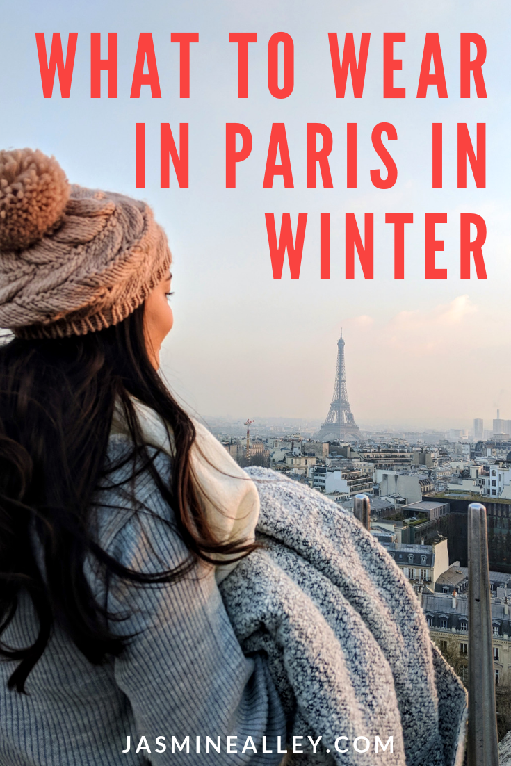 Heading to Paris in the wintertime? Parisian chic winter fashion can be a tough nut to crack. Check out these 10 tips on how to be stylish but sensible in the cold weather. These style tips and examples of what to wear in Paris will give you the necessities for your packing list and keep you warm. Because winter weather shouldn\'t cover up your picture-perfect outfit! Paris street fashion, here you come! #fashiontips #winterfashion #parisfashion #coldweatherstyle #parisian
