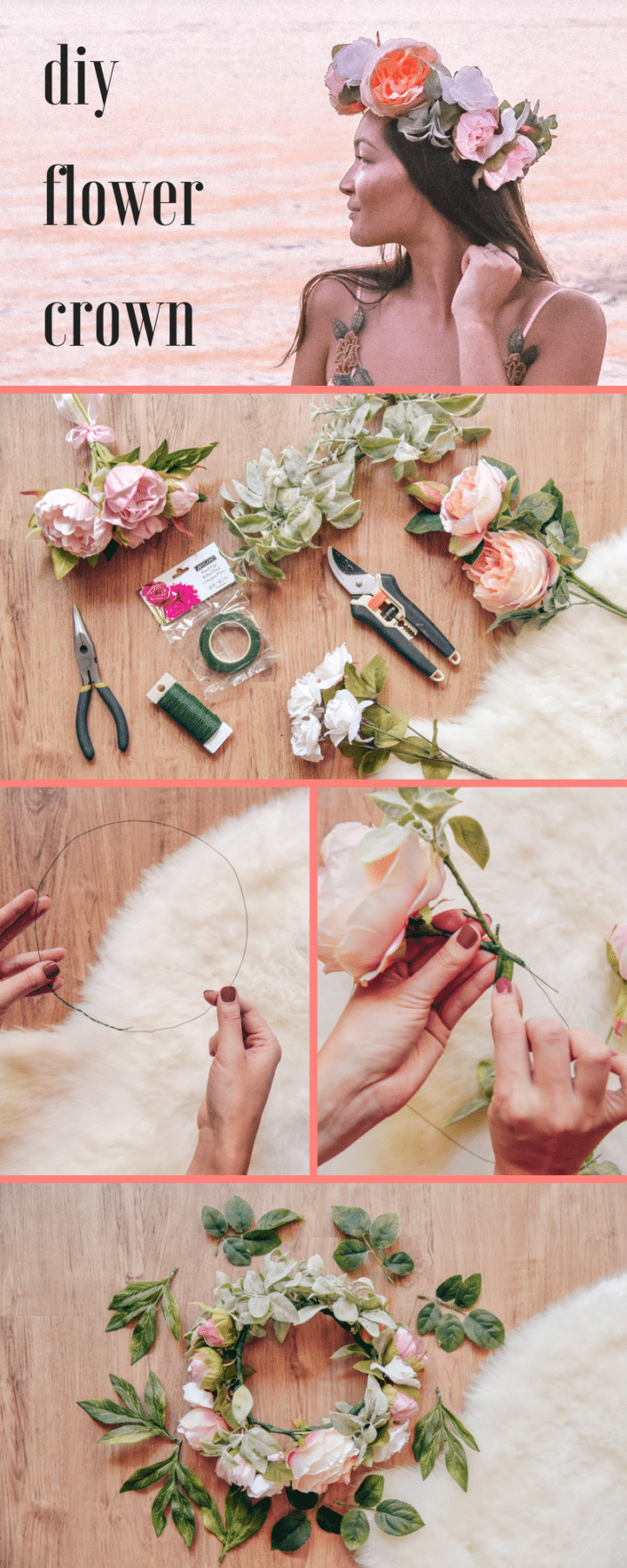 How To Make An Instagram Perfect Flower Crown Jasmine Alley