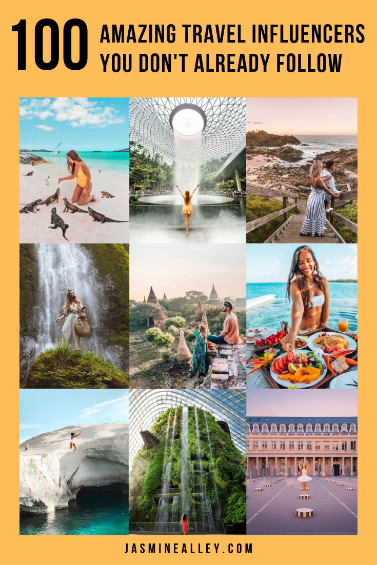 Looking for the best travel influencers on Instagram? Here are 100 amazing travel instagrammers you don\'t already follow! These people have under 100k followers yet have beautiful travel accounts. Check it out for inspiration, wanderlust, and just to see some epic accounts! #travelinfluencer #globetrotters #instagram
