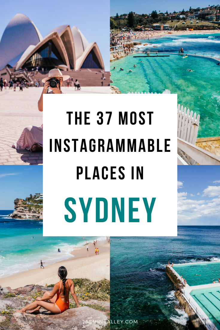 Here are the 37 Most Instagrammable Places in Sydney, Australia! On my recent trip to Australia, I was blown away by how beautiful Sydney is! From scenic nature and photo-worthy cafes to beautiful hotels and iconic landmarks, Sydney has them all! If you\'re looking for things to do in Sydney, these are the best Sydney photography spots, hands down. There\'s no shortage of beautiful places in Sydney, Australia- find the best of the best here! #sydney #australia #instagrammableplaces #travelblogger