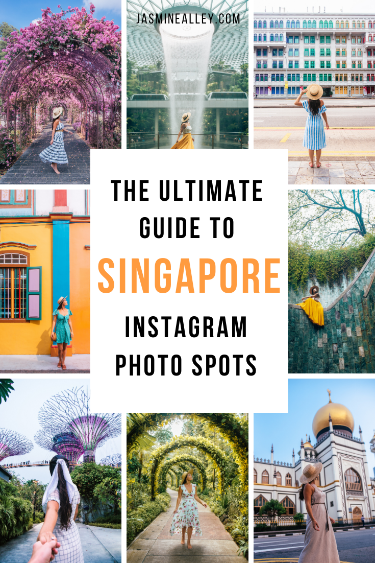 Looking for things to do in Singapore? Check out the 40 Most Instagrammable Places in Singapore in 2020! I compiled this list after spending over 5 months in Singapore throughout the past several years. This modern country is full of photo worthy places- check out which made my 2020 list! From colorful buildings and neat architecture to downtown hot spots and stunning nature, you won\'t want to miss these beautiful photography spots! #singapore #instagrammableplaces #visitsingapore #southeastasia