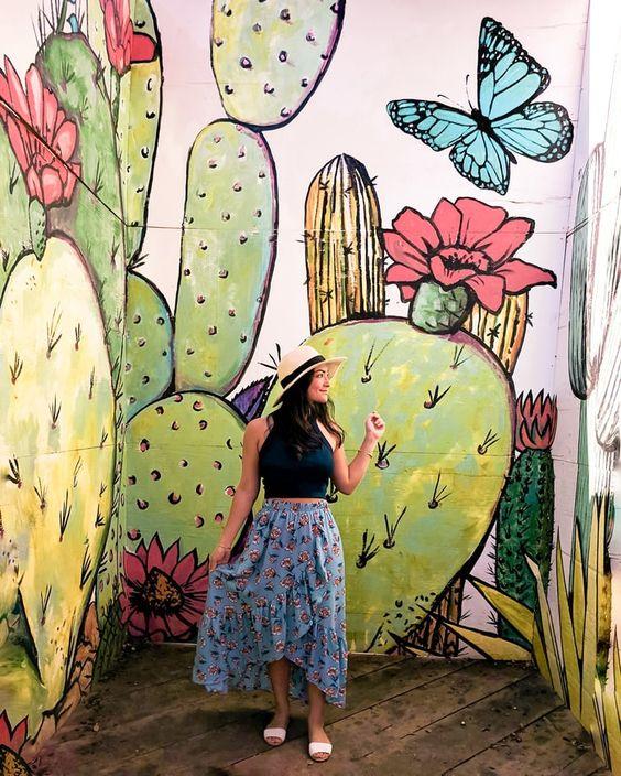 Bishop Arts Dallas Texas Mural