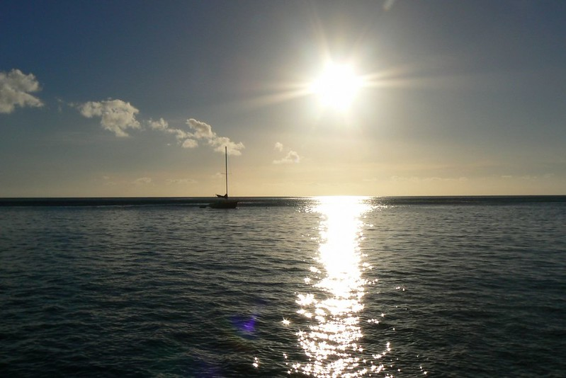 Ho'okena Beach Park sunset