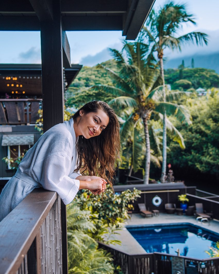 stay in Oahu at Paradise Bay Resort