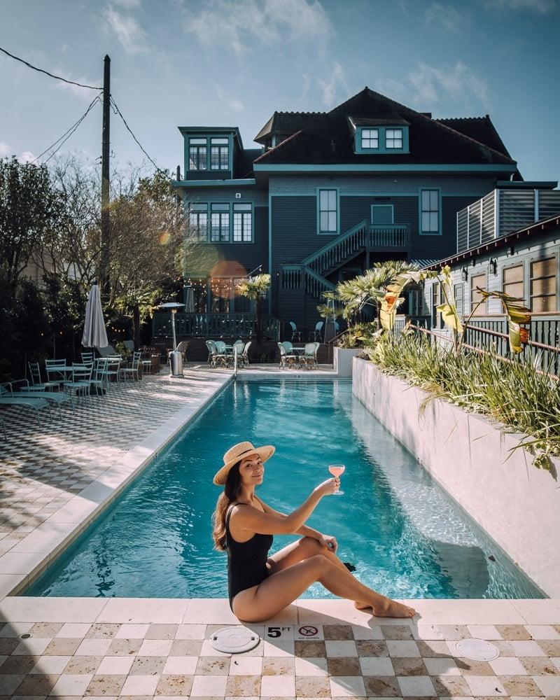 The Chloe pool New Orleans