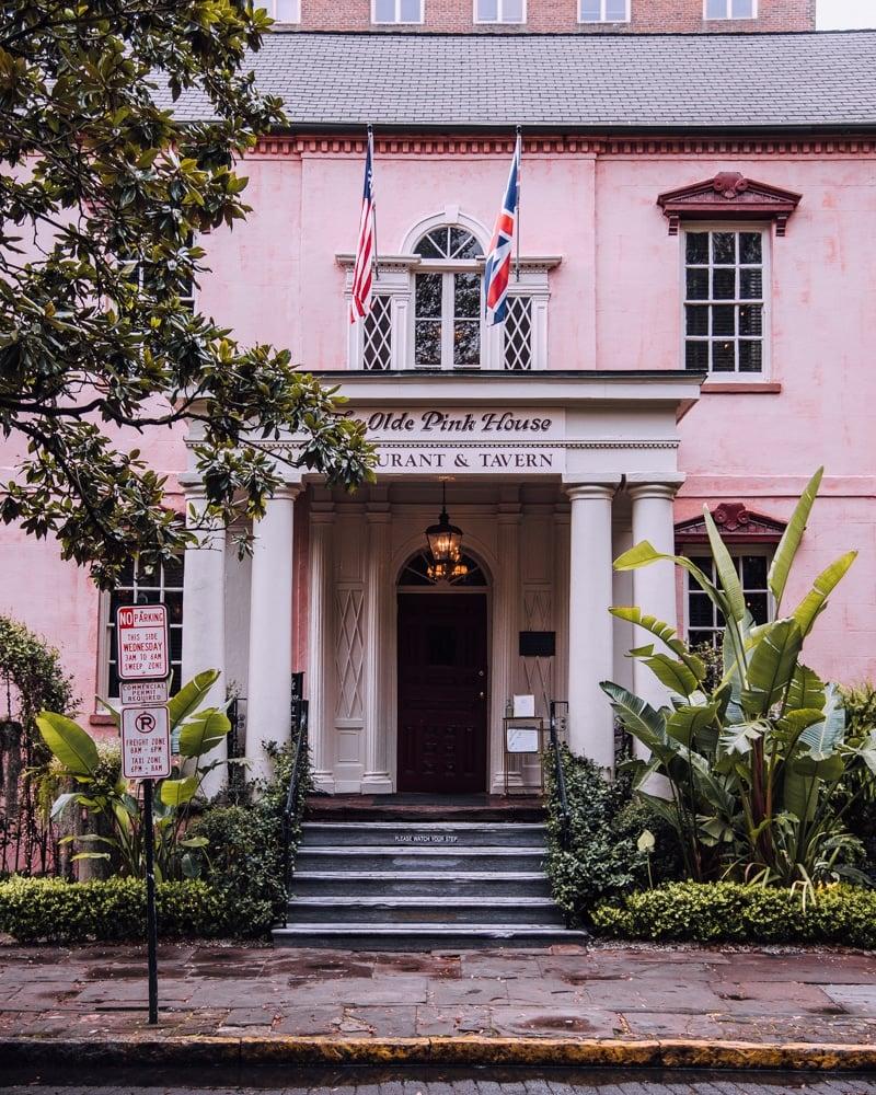 The Old Pink House Savannah